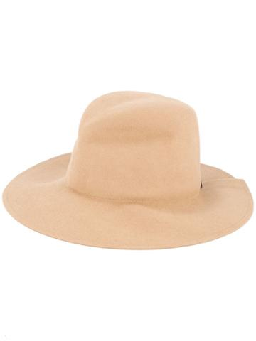 Lola Hats Pinched Hat - Brown
