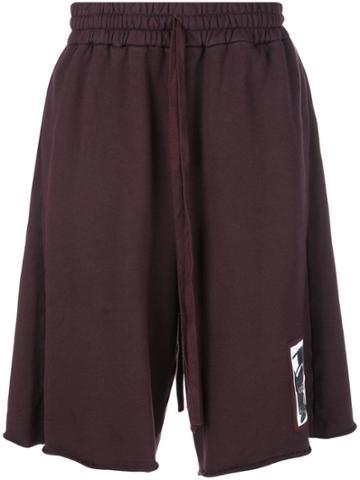 Komakino Elasticated Waist Shorts - Purple