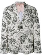 Gucci Tailored Floral Blazer - White