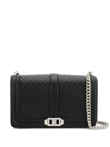 Rebecca Minkoff Nappa Crossbody Bag - Black