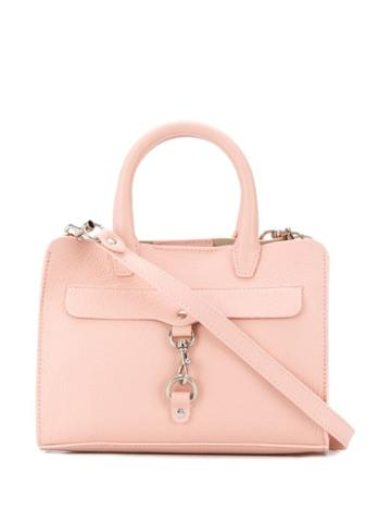 Rebecca Minkoff Mini Mab Pebble Satchel - Pink
