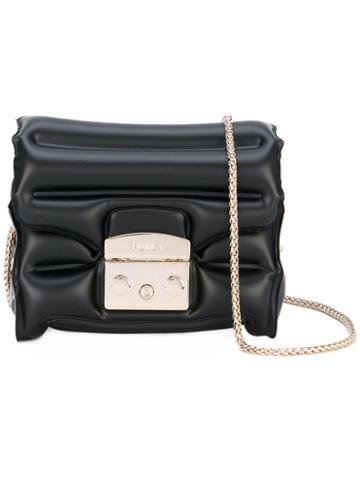 Furla - Metropolis Oxygen Bag - Women - Plastic - One Size, Black, Plastic
