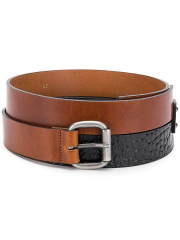 Nude Double Belt - Brown