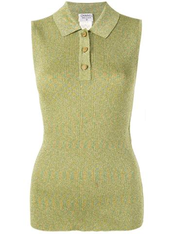 Chanel Vintage Sleeveless Tops - Green