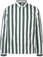 Sunnei Striped Button Shirt - White