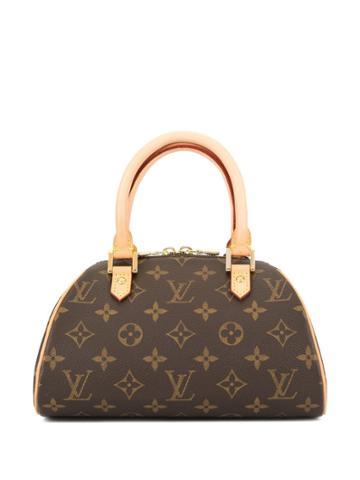 Louis Vuitton Vintage Ribera Mini Handbag - Brown