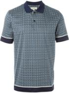 Burberry London Printed Polo Shirt