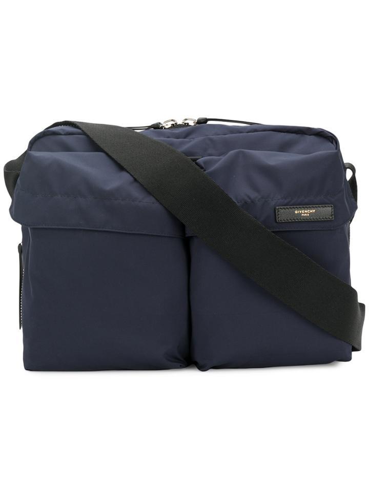 Givenchy Messenger Bag - Blue