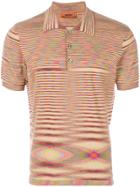 Missoni Printed Polo Shirt - Brown