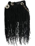 M Missoni Tasselled Bag - Black