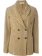 Barena Double-breasted Striped Blazer