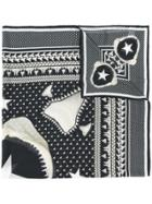Givenchy Printed Scarf - Black