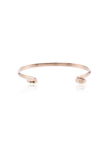 Marla Aaron Hard Hook Bracelet - Metallic