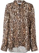 R13 Leopard Print Shirt - Brown