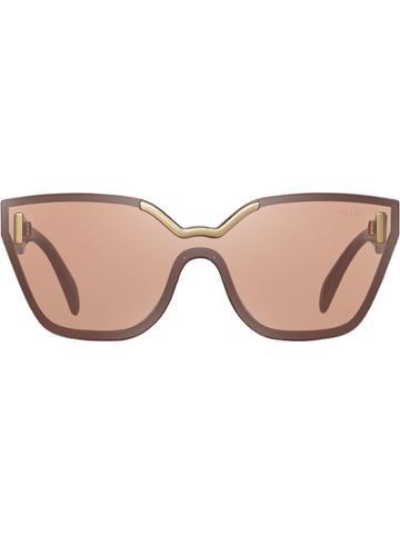 Prada Eyewear Occhiali Sunglasses - Pink