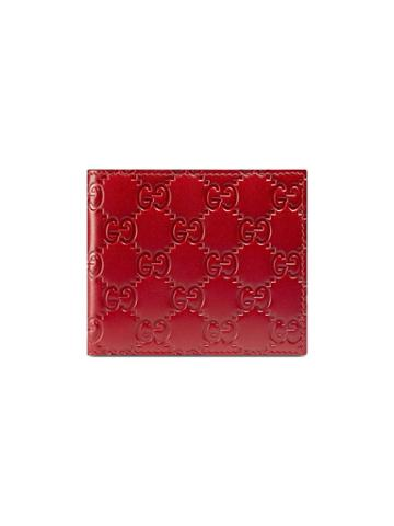Gucci Gucci Signature Wallet - Red
