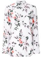 Equipment Floral Print Shirt - White