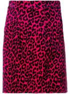 Dsquared2 Leopard Print Skirt - Pink