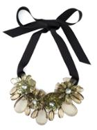 P.a.r.o.s.h. Flower Ribbon Necklace