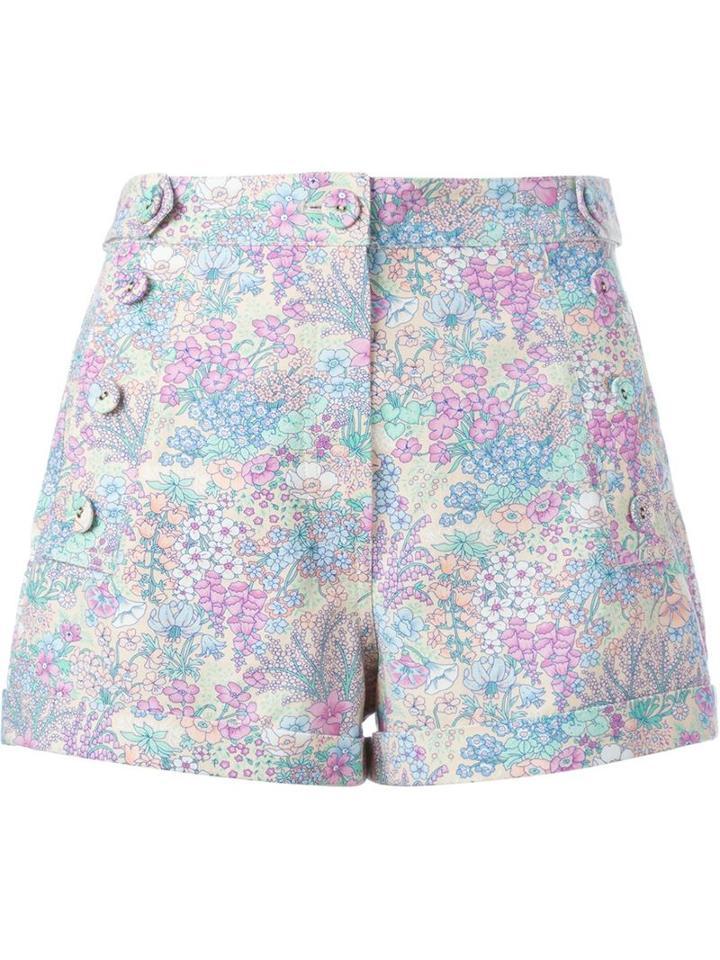 Manoush Floral Print Shorts