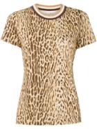 Zimmermann Leopard Print Top - Brown