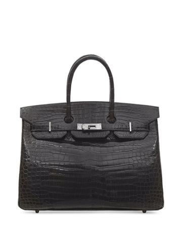 Hermès Pre-owned 2005 35cm Birkin Bag - Black