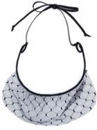 Maison Michel 'joy' Veil Headband, Women's, Blue, Cotton/viscose