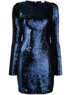 Red Valentino Sequin Mino Dress - Blue