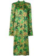 Marni Herbage Satin Dress - Multicolour