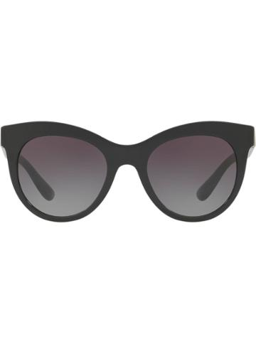 Dolce & Gabbana Eyewear Round Sunglasses - Black