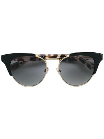 Valentino Eyewear Valentino Garavani Cat Eye Sunglasses - Black