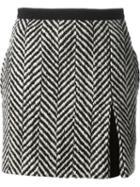 Emanuel Ungaro Chevron Pattern Skirt