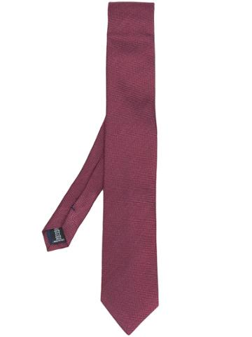 Tonello Pointed Tip Tie - Red