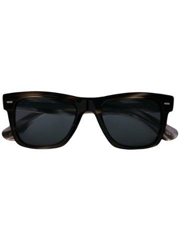Oliver Peoples Tortoiseshell Frame Sunglasses - Black