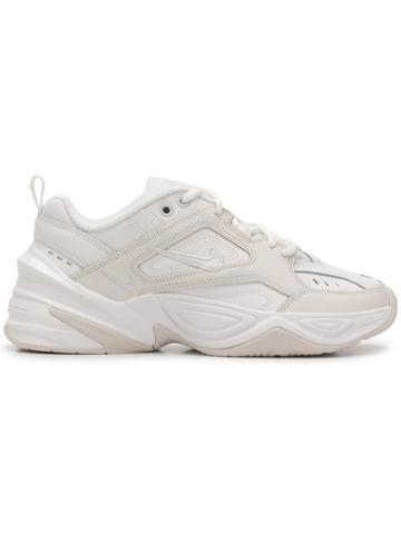 Nike Nike Ao3108n 006 White Leather/fur/exotic Skins->leather
