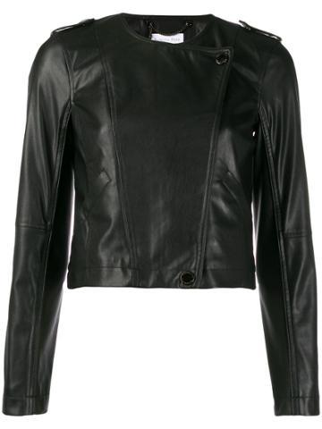 Patrizia Pepe Moto Jacket - Black