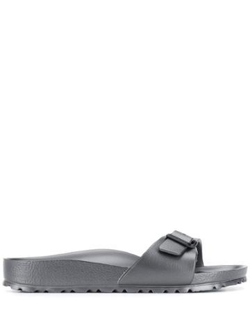 Birkenstock Side Buckle Slides - Grey