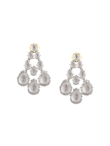 Larkspur & Hawk Chandelier Earrings - Silver