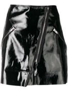 Jovonna Soniya Zipped Skirt - Black