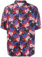 Sss World Corp Hawaiian Style Shirt - Black