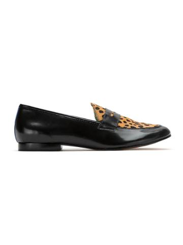 Blue Bird Shoes Leather Penny Loafers - Black