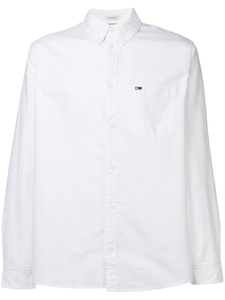 Tommy Jeans Tjm Tommy Classic Shirt - White