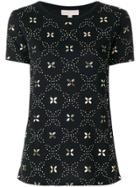 Michael Michael Kors Studded T-shirt - Black