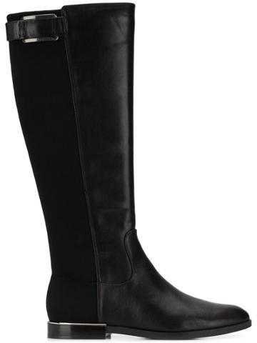 Calvin Klein Calvin Klein 205w39nyc E7482 Blk Calf Leather - Black