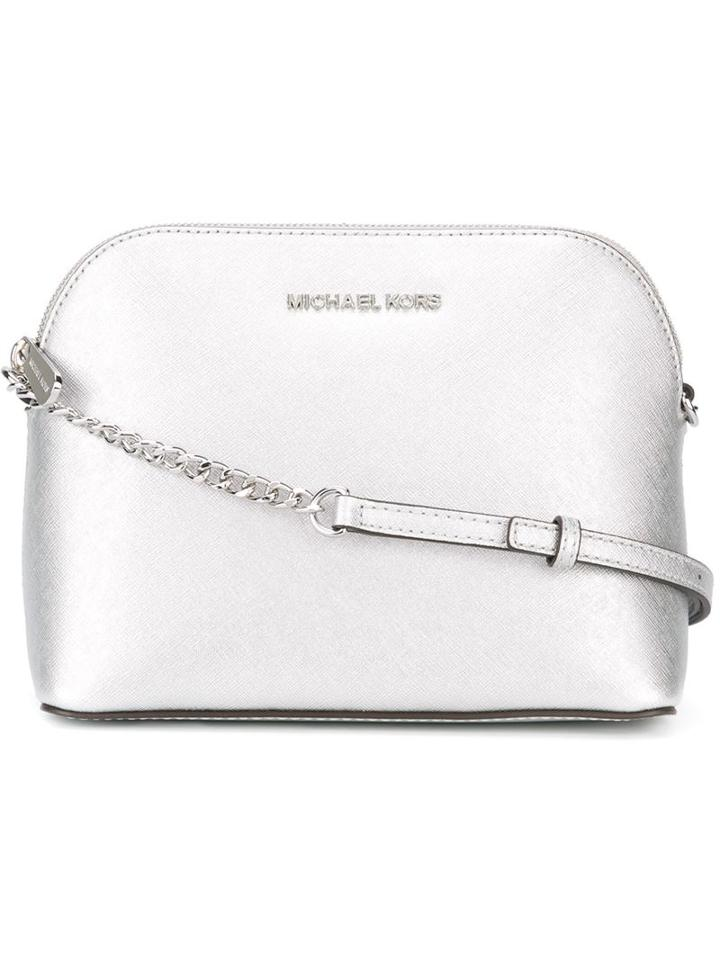 Michael Michael Kors Large 'cindy' Crossbody Bag, Women's, Grey