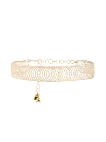 Rosantica Cosmo Choker Necklace, Women's, Metallic