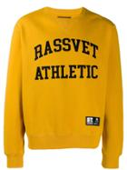 Rassvet Printed Sweatshirt - Yellow