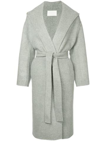 Ballsey Belted Robe Coat - Grey
