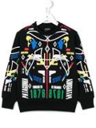 Marcelo Burlon County Of Milan Kids 'patagonia' Sweatshirt