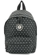 Versus Printed Backpack - Black